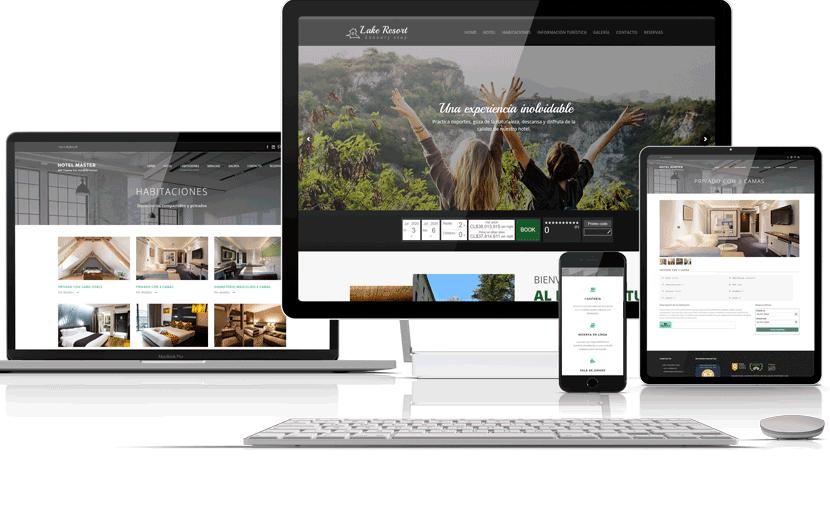 Sitio web hoteles